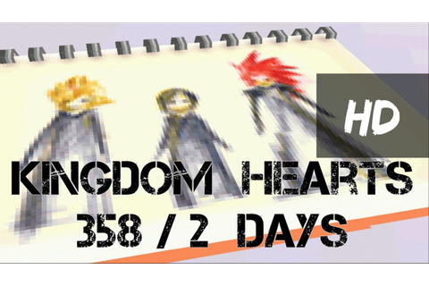 Kingdom Hearts 358/2 Days Game Boss Highlights HD ...