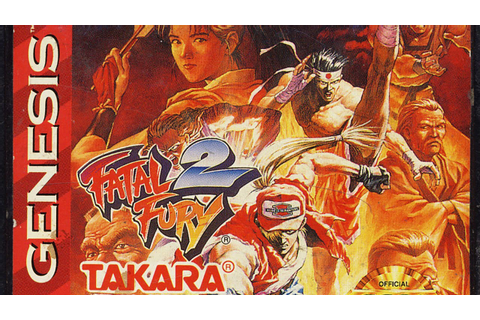 Classic Game Room - FATAL FURY 2 review for Sega Genesis ...