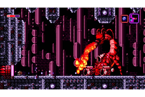 Axiom Verge Boss Gir-Tab - YouTube