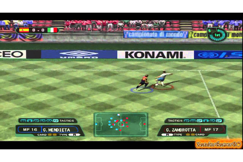 COME ERAVAMO: ISS (International Superstar Soccer) PS2 ...