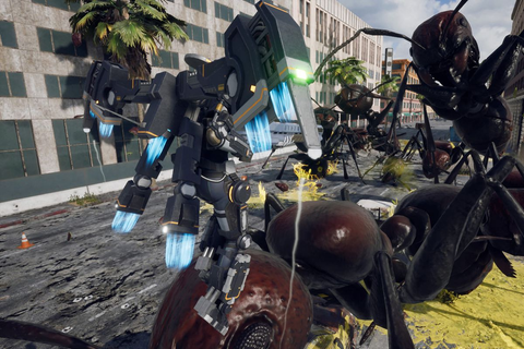 Iron Rain is a new style of Earth Defense Force - Polygon