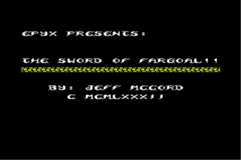 Download Sword of Fargoal - My Abandonware