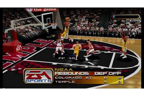 NCAA March Madness 2000 Gameplay Exhibition Match (PS1,PSX ...