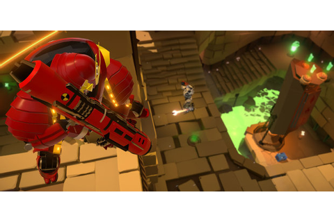 Reflex rocketjumps out of early access | Rock Paper Shotgun