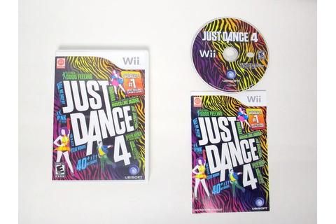 Just Dance 4 game for Nintendo Wii | The Game Guy