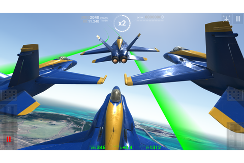 Blue Angels: Aerobatic Flight Simulator - Android Apps on ...