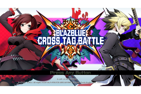 Save 40% on BlazBlue: Cross Tag Battle on Steam