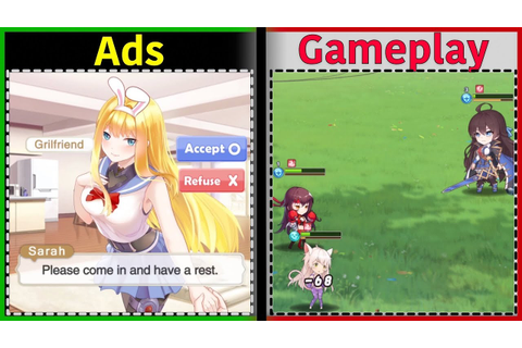 Girls X Battle 2 | Is it like the Ads? | Gameplay - YouTube