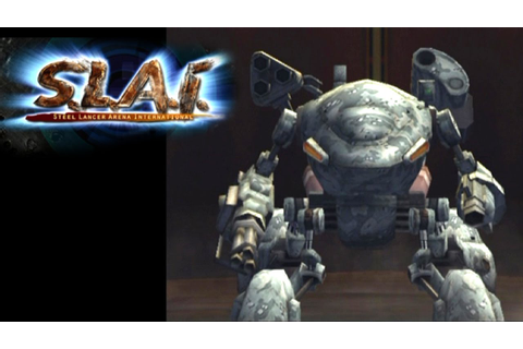 S.L.A.I.: Steel Lancer Arena International ... (PS2) - YouTube