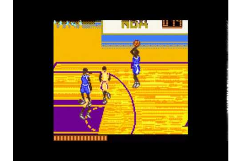 NBA Jam 2001 (Game Boy Color)- Gameplay - YouTube
