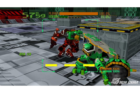 The Cyber Troopers Virtual-On Oratorio Tangram XBLA ...