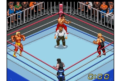 SNES Super Fire Pro Wrestling X - YouTube