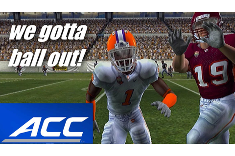 ALL AMERICAN CB - ACC CHAMPIONSHIP GAME & BOWL GAME - NCAA ...