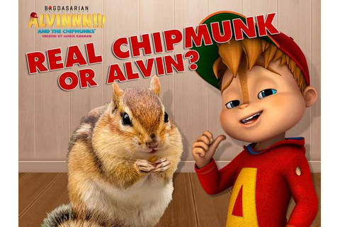 Alvin and the Chipmunks: Real Chipmunk or Alvin? Quiz Game