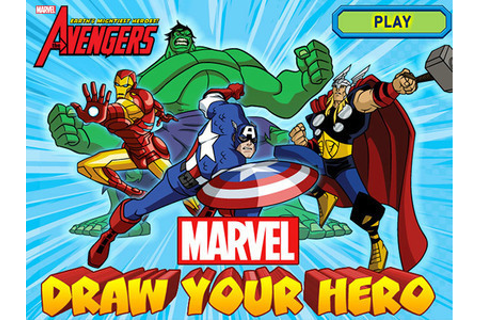 Marvel - Draw Your Hero | Disney Games