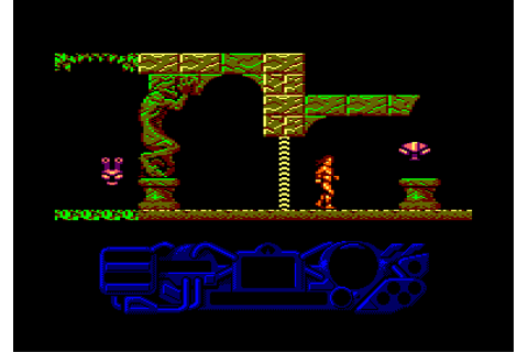 CPCRULEZ > AMSTRAD CPC > GAMESLIST > THE SACRED ARMOUR OF ...