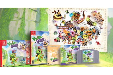 Limited Run Games' Yooka-Laylee Collector's Edition ...