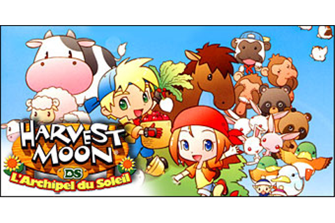 Harvest moon test ds