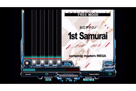 Beatmania IIDX 10th Style - 1st Samurai [ANOTHER] - YouTube