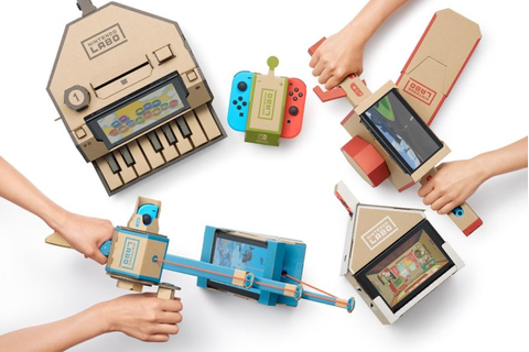 Nintendo's Latest Gaming Set Is Made From Cardboard