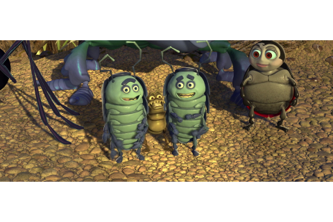 "Tuck and Roll, characters from ""A Bug's Life"". 