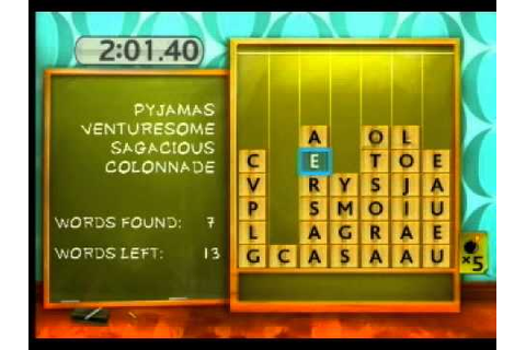 My Word Coach Wii gameplay - YouTube