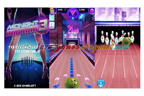NOKIA SYMBIAN 5800 S60V5 JAVA GAMES: MIDNIGHT BOWLING 3 ...