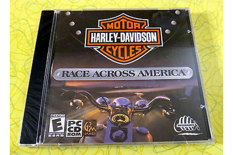 Harley-Davidson: Race Across America ~ PC CD Rom Video ...
