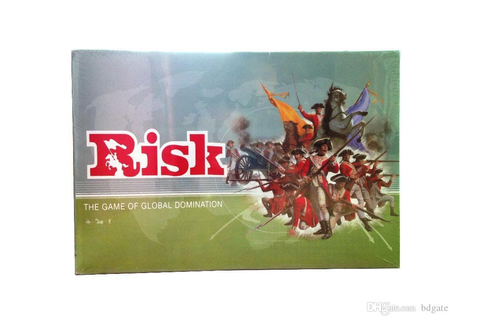 English Risk: The Game Of Global Domination Board Table ...