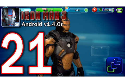 IRON MAN 3: The Official Game Android Walkthrough - Part ...