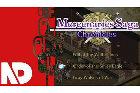 [eShop EU] Mercenaries Saga Chronicles - First Look - YouTube