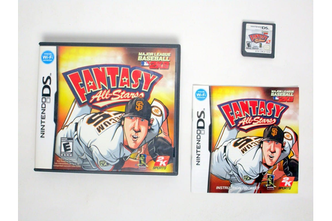 MLB 2K9 Fantasy All-Stars game for Nintendo DS | The Game Guy