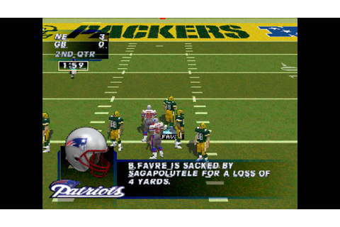 Madden NFL '97 PS1 Gameplay HD - YouTube