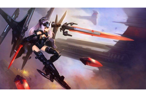 Busou Shinki, Tempesta (Busou Shinki), Mecha Girls, Anime ...