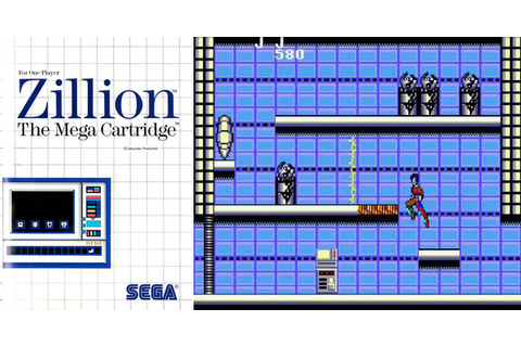 Play Zillion on Master System