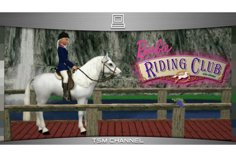 Barbie Riding Club (part 7) (Horse Game) - YouTube