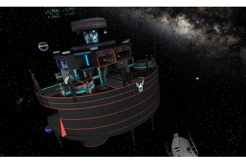 UNSC Modified Space Station | StarMade Dock