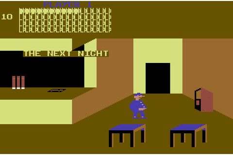 VGJUNK: BOZO'S NIGHT OUT (COMMODORE 64)