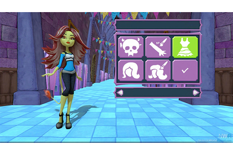Monster High New Ghoul in School - Game - Nintendo World ...