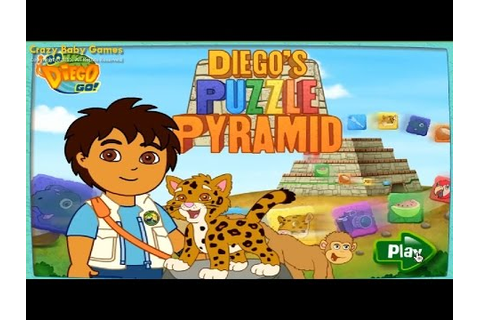 Go, Diego Go! - Puzzle Pyramid NEW GAME 2015! - YouTube
