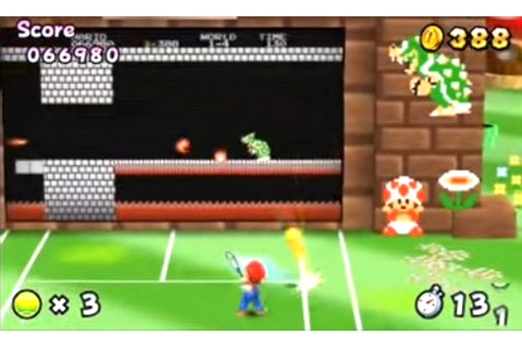 Mario Tennis Open Review |BasementRejects
