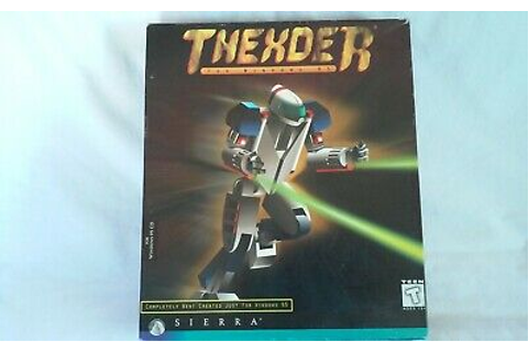 Thexder per Windows 95 DALLA SIERRA-VINTAGE PC CD-ROM GAME ...