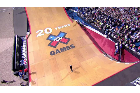 X Games Skateboard Big Air Competition - YouTube