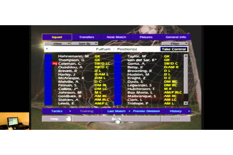 Lets Play Championship Manager Season 01 02 For The Xbox ...