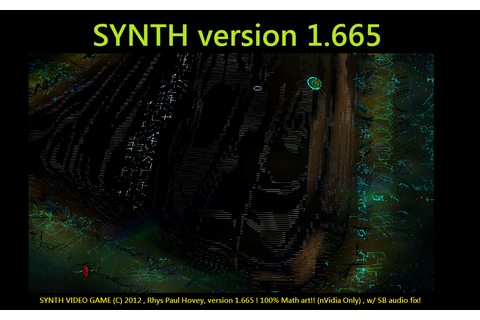 SYNTH(tm) VIDEO GAME v1.665 (FIXES SB cards) file - Mod DB