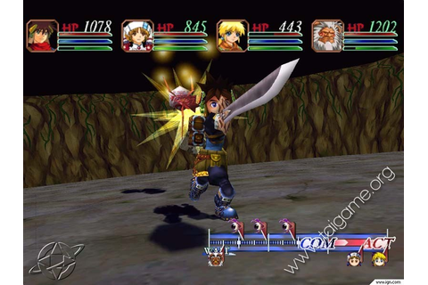 Grandia 2 - Download Free Full Games | Role-Playing games
