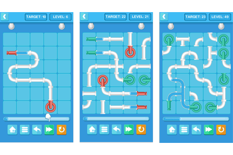 Pipe Mania - HTML5 Puzzle Game (Construct 2/3) by redfoc ...