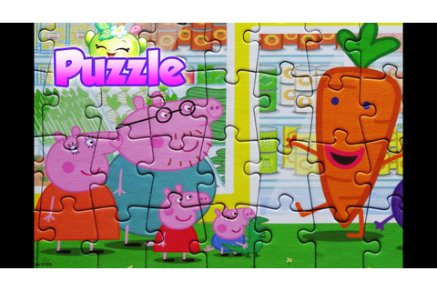 Peppa Pig Puzzle Games Jigsaw Toys For Kids Rompecabezas ...