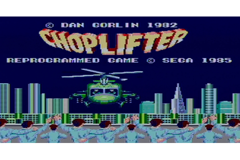 Choplifter [Sega Master System] – Review and Let's Play ...