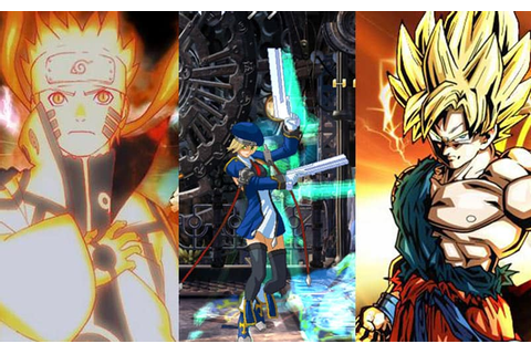 Top 11 Best Anime Fighting Games to Play